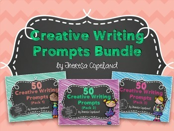 Creative Writing Prompts {Packs 1, 2, & 3} Bundle