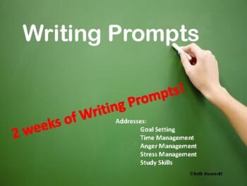 Writing Prompts 1 (Addresses Emotional Intelligence Skills)