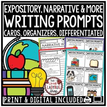Writing Prompts - 2nd Grade, 3rd Grade & 4th Grade