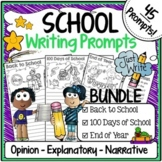 School Days Writing Prompts with Pictures