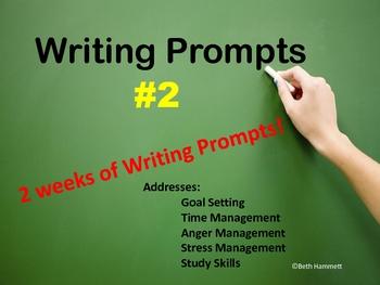 Writing Prompts 2 (Addresses Emotional Intelligence Skills)