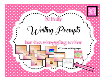 Writing Prompts (20) - Autistic or Emergent Writer (Life Skills)