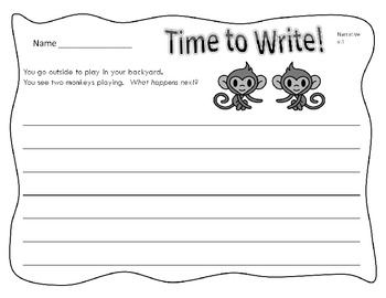 Writing Prompts - 20 High Interest Writing Printables for Elementary