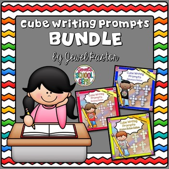 Writing Activities BUNDLE (Adventure, Fantasy and Sci-Fi Writing Prompts)
