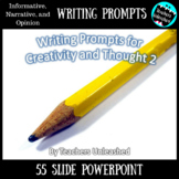 Opinion, Informative, and Narrative Writing Prompts