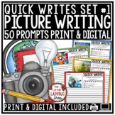 Digital Photo Picture Writing Prompts 3rd, 4th Grade Daily Quick Writes Activity