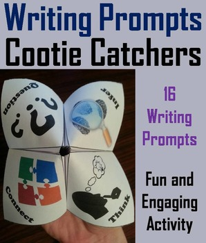 Journal Writing Prompts Activity 7th 6th 5th 4th Grade Rea