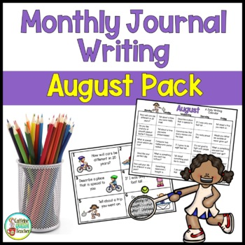 Daily Journal Writing Prompts and Papers for August