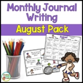 Daily Journal Writing Prompts for August