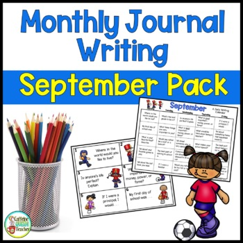 Daily Journal Writing Prompts and Papers for September