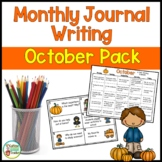 Daily Journal Writing Prompts for October