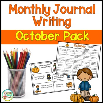 Daily Journal Writing Prompts and Papers for October