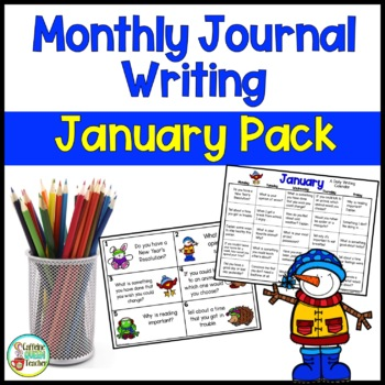 Daily Journal Writing Prompts and Papers for January