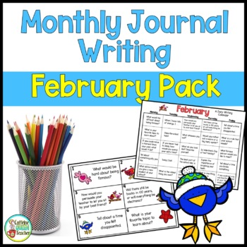 Daily Journal Writing Prompts and Papers for February