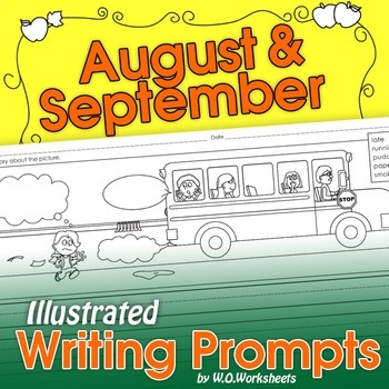August September Writing Prompts