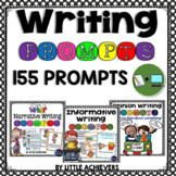 Writing Prompts for Second Grade | Writing Journal Prompts BUNDLE