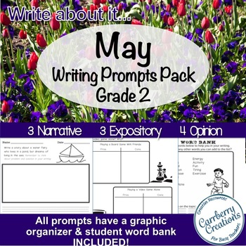 Writing Prompts 2nd Grade for May