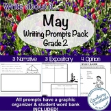 Writing Prompts for Second Graders | May Themes