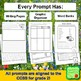 Writing Prompts for Second Graders | Spring Themes BUNDLE