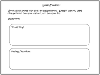 Writing Prompts: Rubric and Checklist included