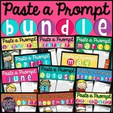 Writing Prompts for the Year Bundle (Writing Centers)