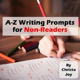 Writing Prompts A-Z for Special Education