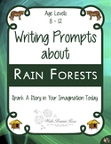 Writing Prompts About Rain Forests (Plus Easel Activity)