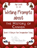 Writing Prompts About the History of Canada