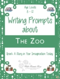 Writing Prompts About the Zoo (with Easel Activity)