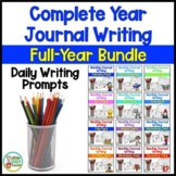 Daily Journal Writing Prompts and Papers Year Long BUNDLE