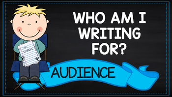 Writing Prompts - Audience and Purpose