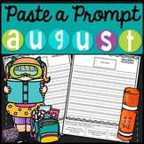 Back to School Writing (August Writing Prompts)