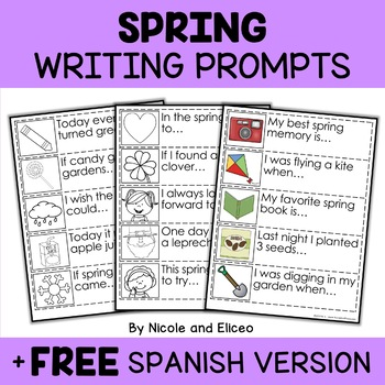 Seasonal Writing Prompt Bundle