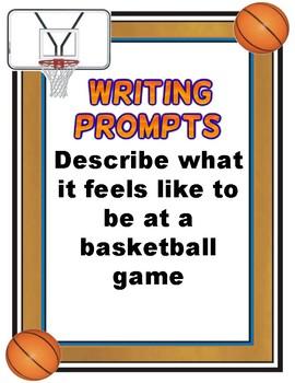 Writing Prompts: Basketball