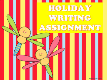 Writing Prompts & Bonus Holiday Writing Activity