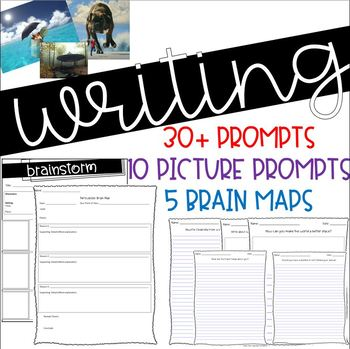 Writing Prompts & Brain Maps
