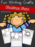 Christmas Writing Prompts - Build a Funny Face Craft