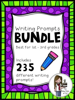 Writing Prompts Bundle (1st-3rd)