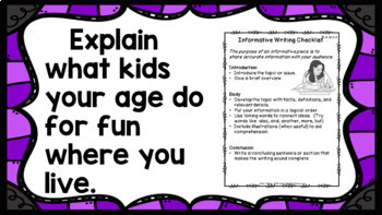 Writing Prompts Bundle 3rd Grade Write Every Day!