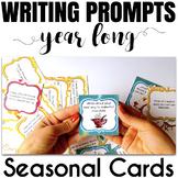 Seasonal Writing Prompts Bundle (fall, winter, spring, summer)