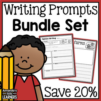 Writing Prompts Bundle - Over 300 Prompts