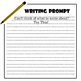 36 Writing Prompts Card Set 01 - Narrative, Informational, Fantasy Story Starter