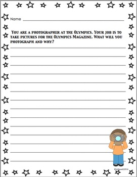 Writing Prompts Centers Early Finishers