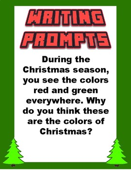 Writing Prompts: Christmas Edition