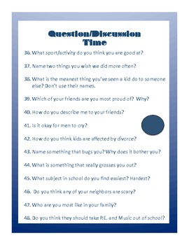 Writing Prompts - Conversation Starters - Elementary