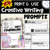 Creative Writing Prompts {30-Day Journaling Challenge}