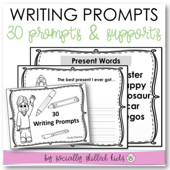 WRITING PROMPTS {Differentiated For k-3rd Grade or Ability}
