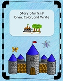 Writing Prompts: Draw, Color, and Write