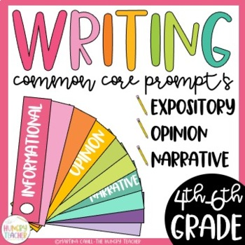 Writing Prompts Fan Bundle (Common Core and More) 300+ Writing Prompts!