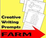 Writing Prompts - Farm {Kindergarten & 1st Grade)